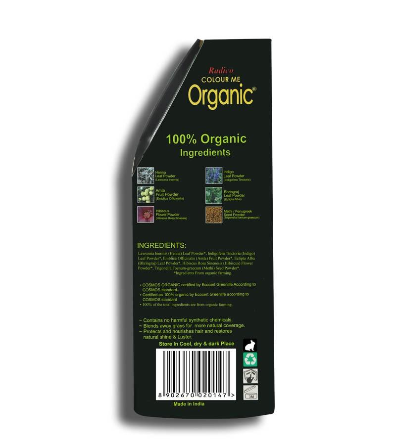 Radico + hair colour + Certified Organic Hair Color Dye - Red Shades + Mahogany (100 gm) + shop
