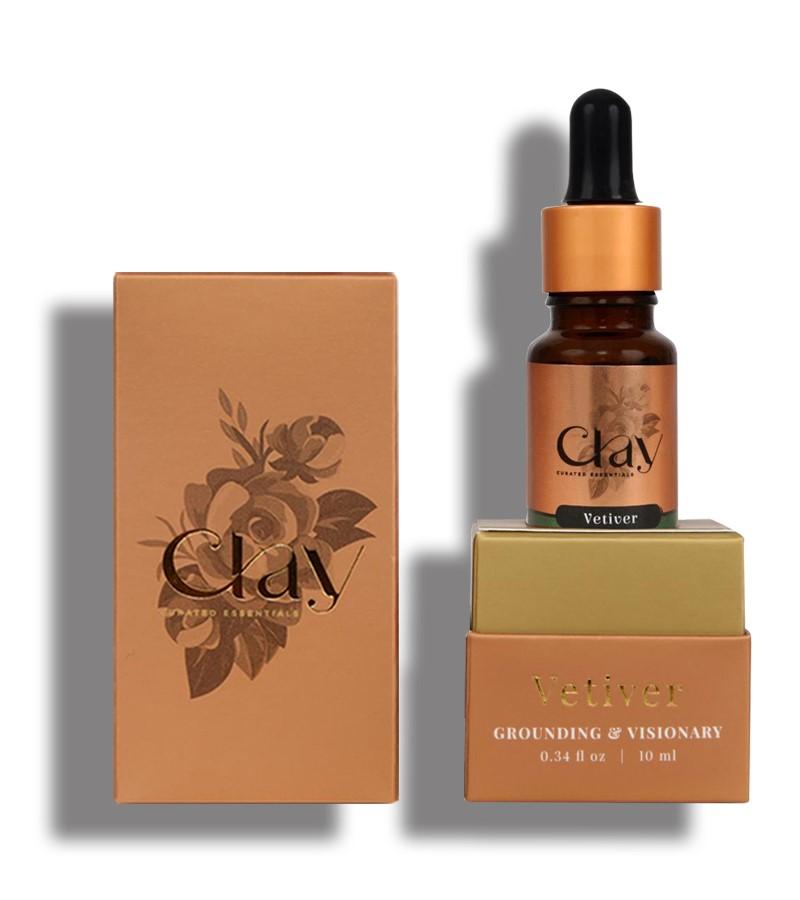 Clay Essentials + essential oils + Vetiver Essential oil + 10 ml + online