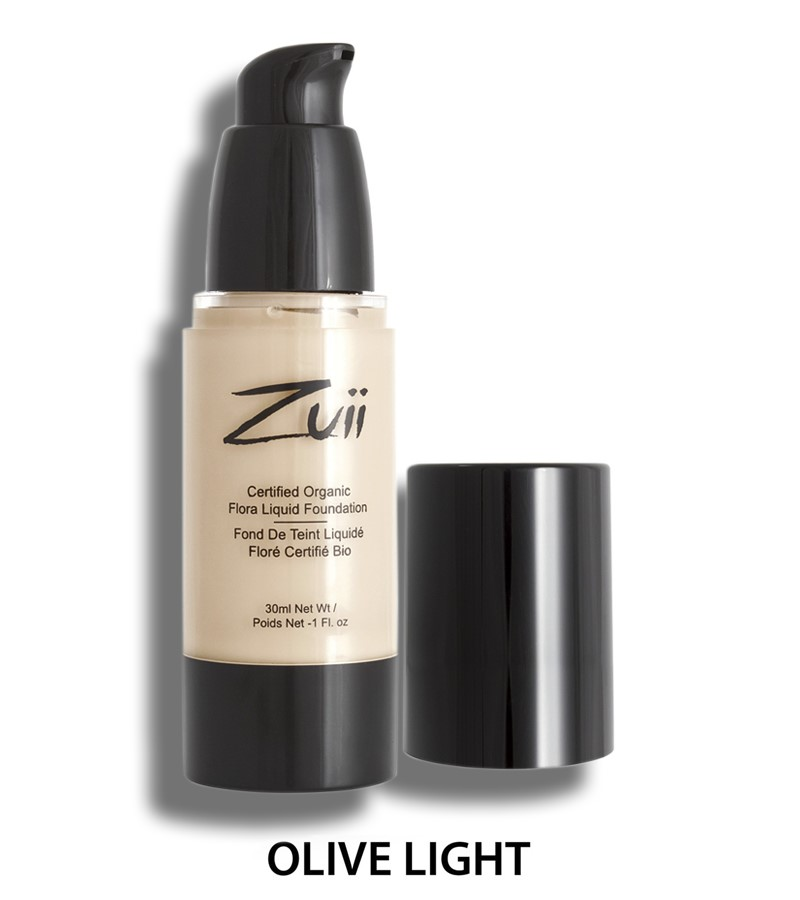 Zuii Organic + face + Liquid Foundation + Olive Light (30 ml) + buy