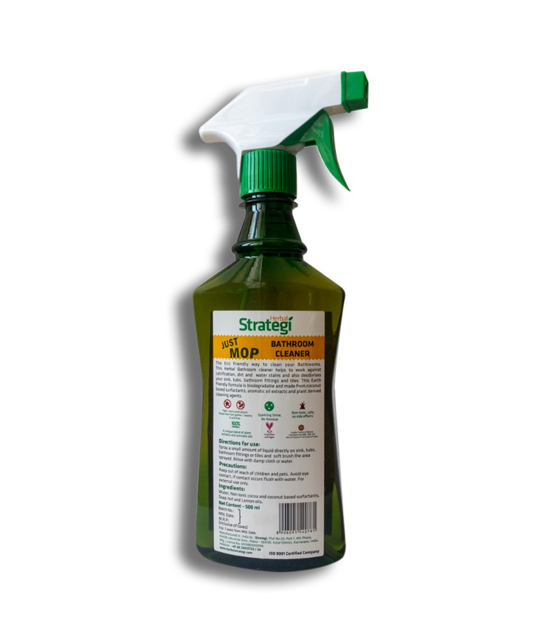 Herbal Strategi + floor + toilet cleaners + Bathroom Cleaner + 500ml (min qty 2) + shop