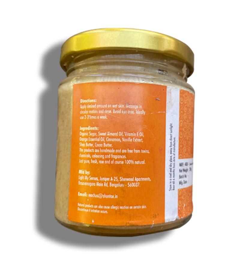 Shantae + body scrubs & exfoliants + Face and Body Scrub Spiced Orange + 200 gm + discount