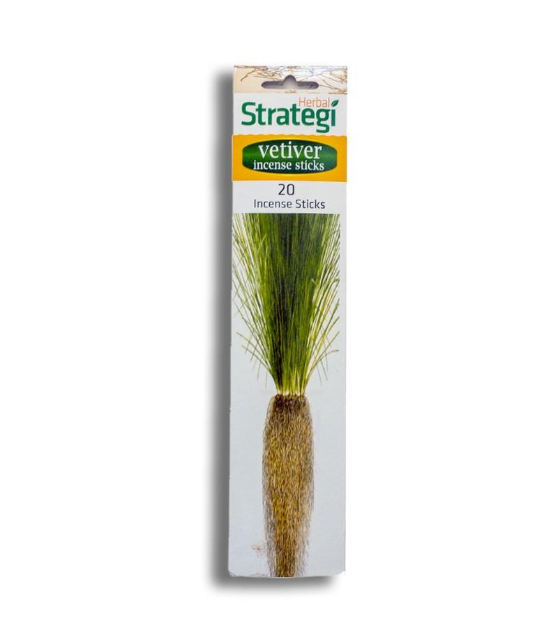 Herbal Strategi + incense sticks + Aromatic Incense Sticks (min qty 5) + Vetiver + buy