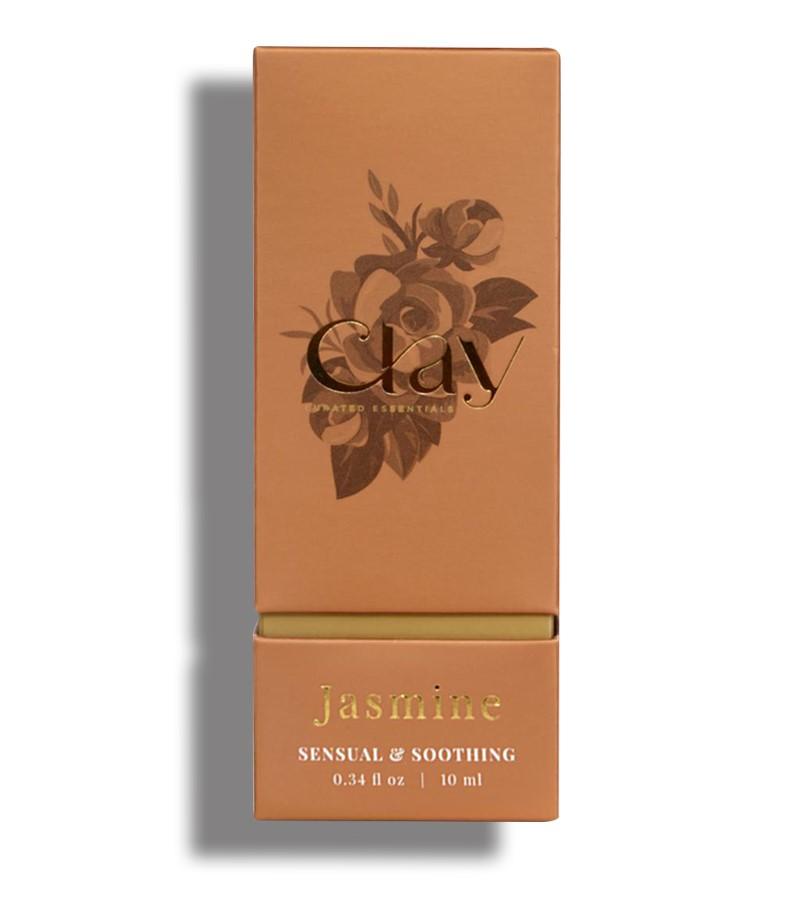 Clay Essentials + essential oils + Jasmine essential Oil + 10 ml + shop