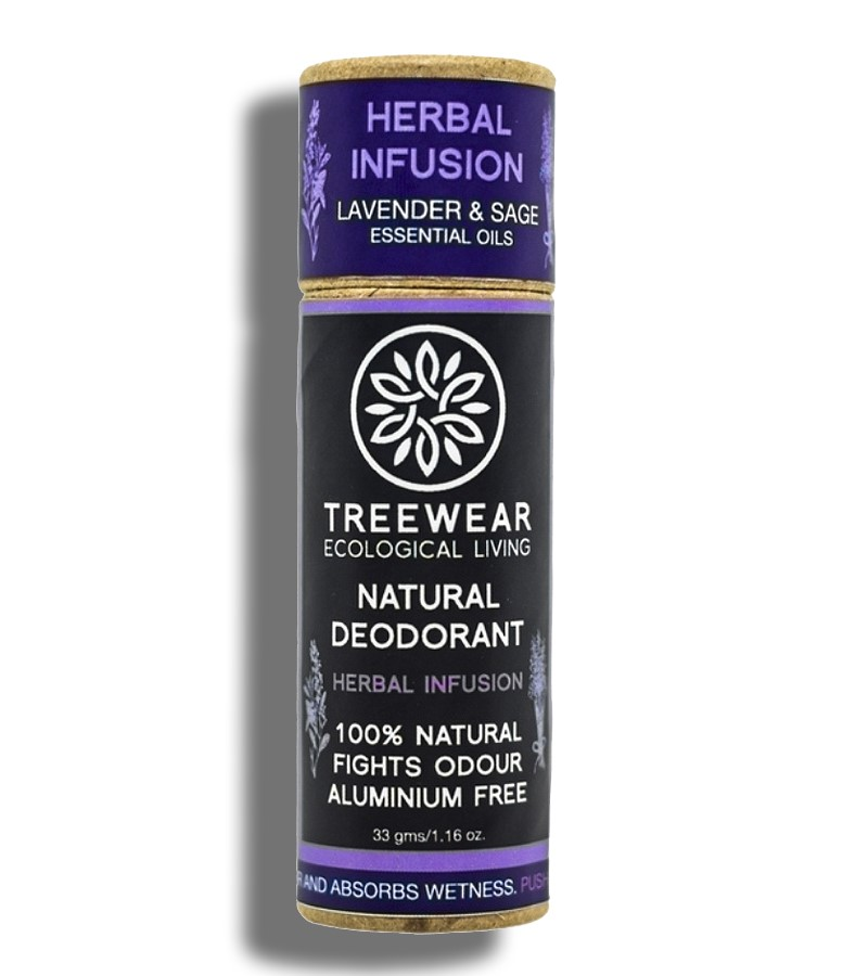 Treewear + deodorant + Natural Deodorant Stick - Herbal Infusion + 33 gm + buy