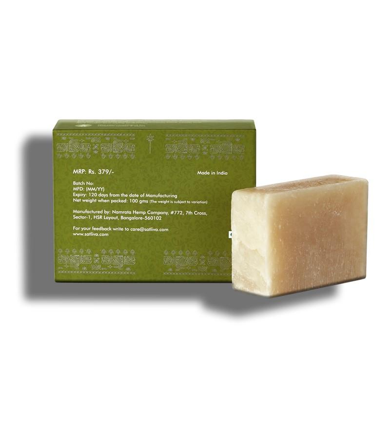 Satliva + soaps + liquid handwash + Hemp With Moringa Soap + 100 gm + discount