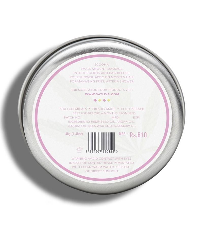 Satliva + hair masks + Argan Rosemary Hair Cream + 40g + discount