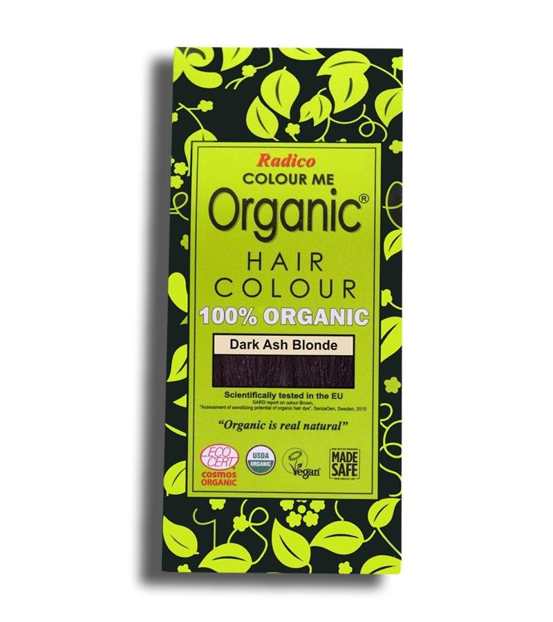 Radico + hair colour + Certified Organic Hair Color Dye - Blonde Shades + Dark Ash Blonde (100 gm) + buy