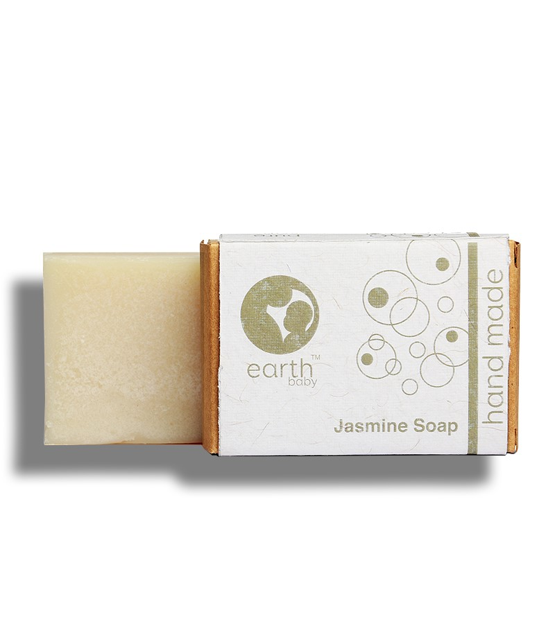 earthBaby + baby bath & shampoo + Jasmine Handmade Soap + 100 gm + shop