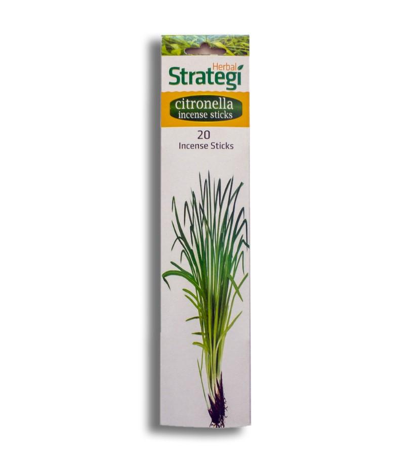 Herbal Strategi + incense sticks + Aromatic Incense Sticks (min qty 5) + Citronella + buy
