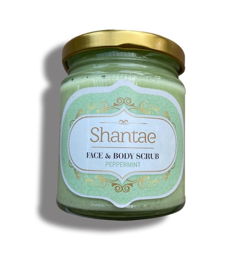 Shantae + body scrubs & exfoliants + Face and Body Scrub Peppermint + 200 gm + buy