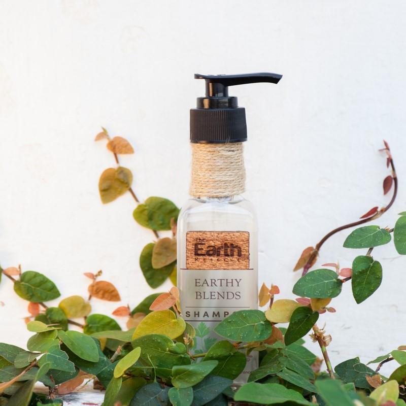 The Earth Reserve + shampoo + dry shampoo + Earthy Blends Infused Shampoo + 100 gm + discount