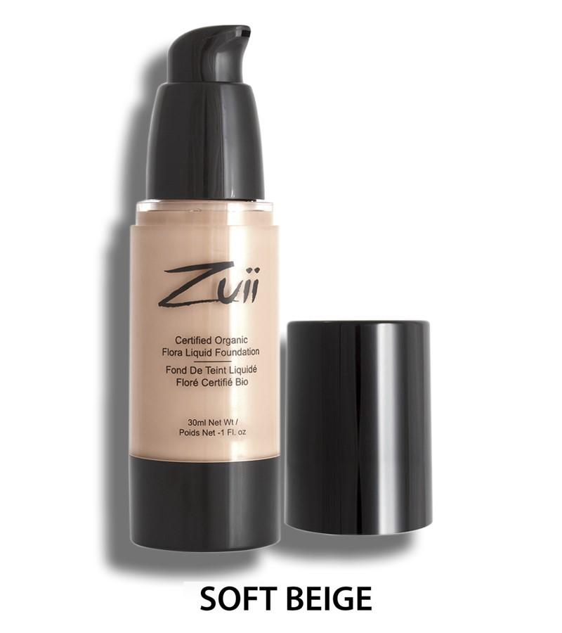 Zuii Organic + face + Liquid Foundation + Soft Beige (30 ml) + buy