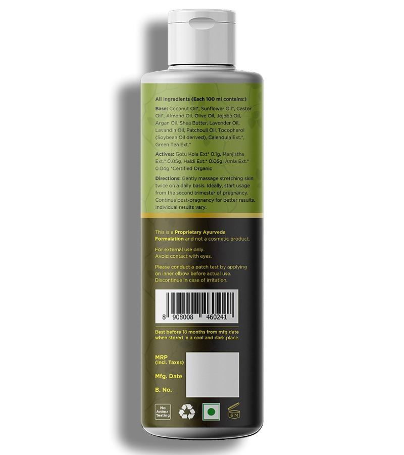 Life & Pursuits + mama creams & oils + Organic Stretch Marks Oil + 100 ml + discount