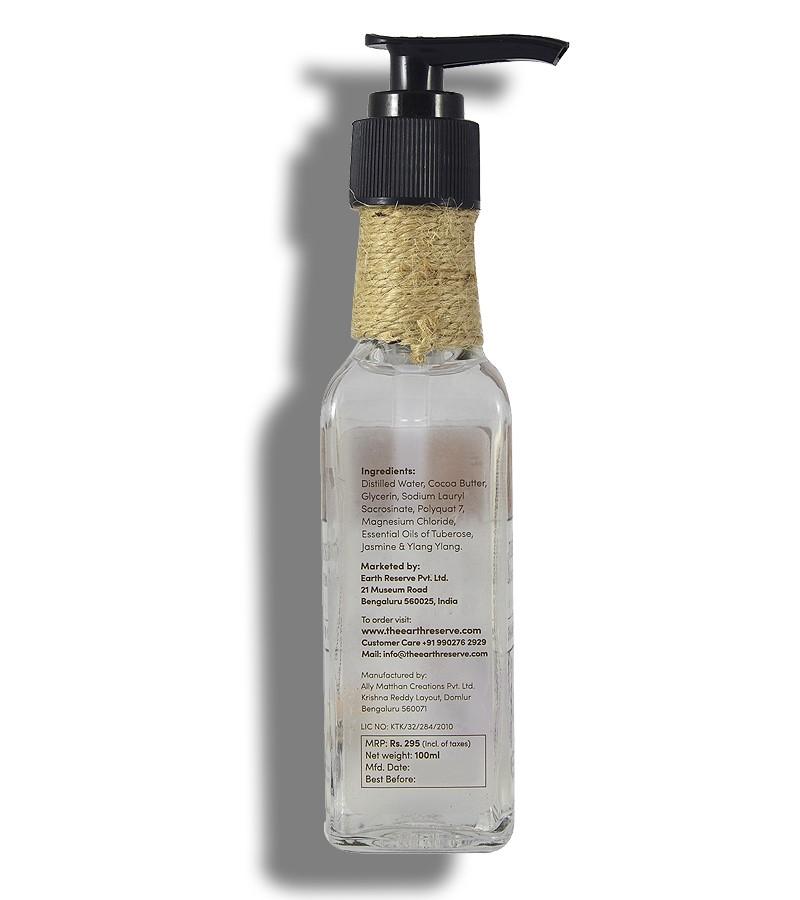 The Earth Reserve + shampoo + dry shampoo + Earthy Blends Infused Shampoo + Tuberose & Ylang Ylang + shop