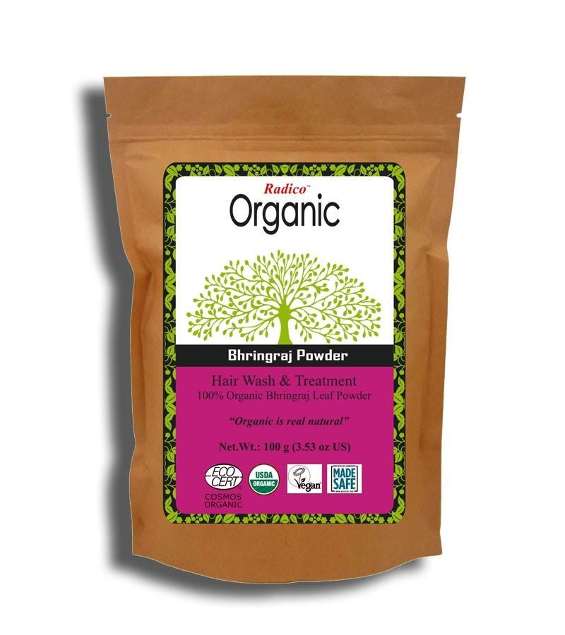 Radico + hair masks + Organic Bhringraj Powder + 100 gm + buy