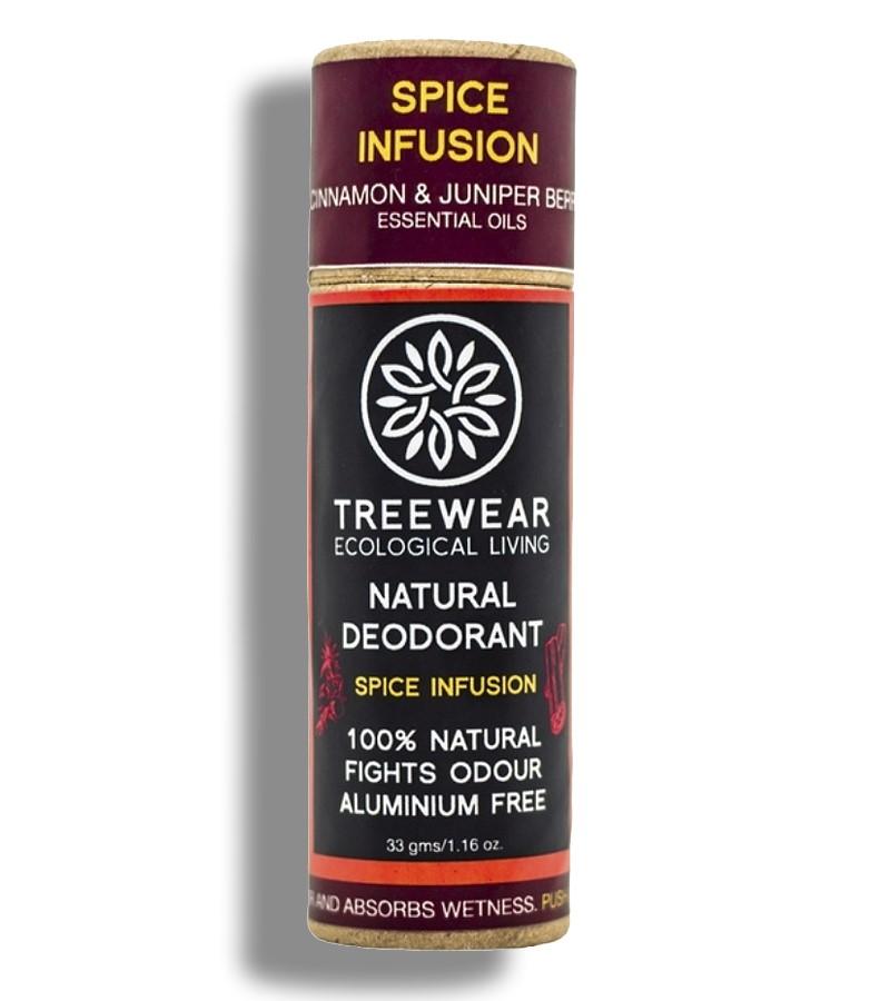 Treewear + deodorant + Natural Deodorant Stick - Spice Infusion + 33 gm + buy
