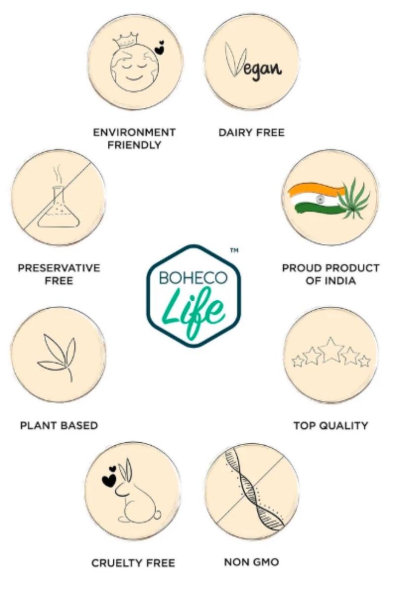 Boheco Life + ayurvedic oils + Boheco Life Hemp Seed Oil + 500ml + deal