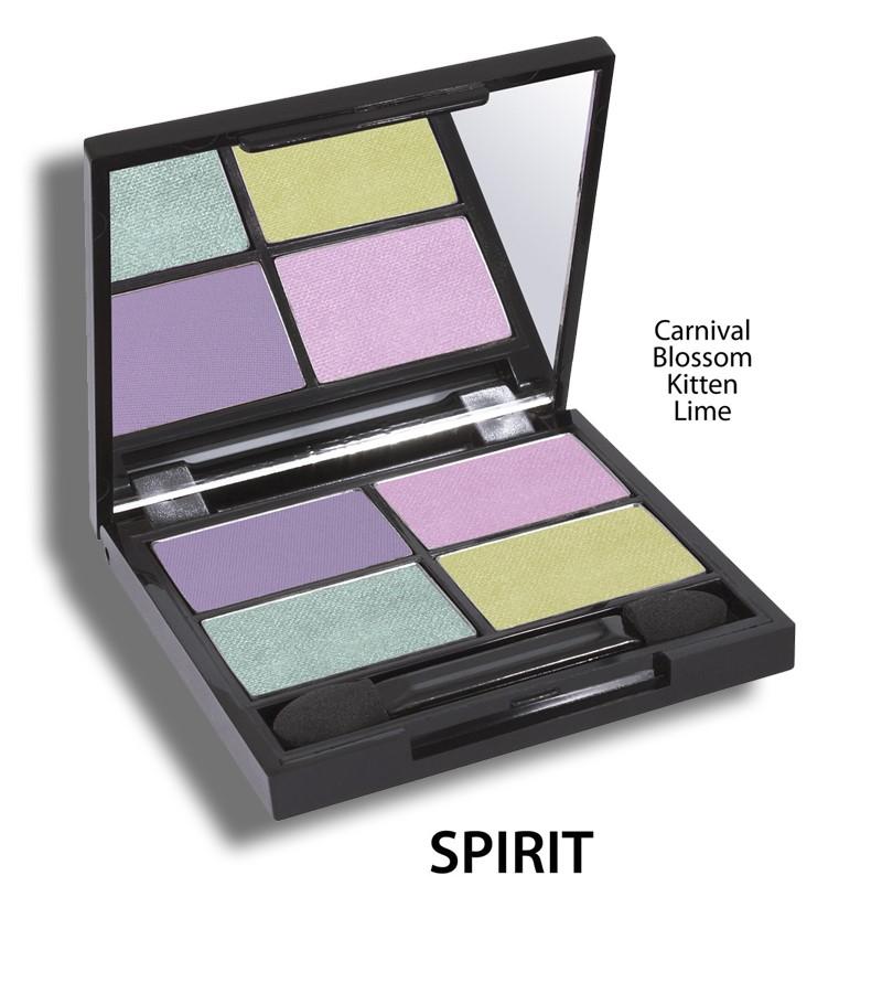 Zuii Organic + eyes + Flora Eyeshadow QUAD Pallet + Spirit + buy