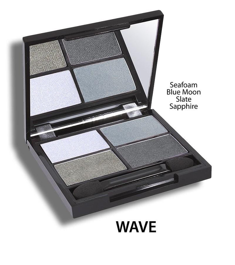 Zuii Organic + eyes + Flora Eyeshadow QUAD Pallet + Wave + buy