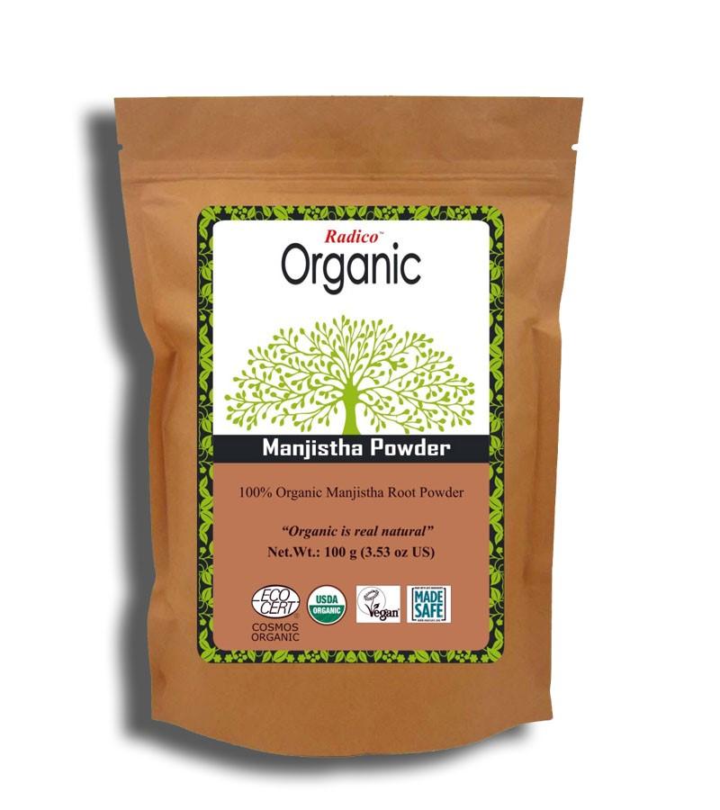 Radico + hair colour + Organic Manjistha Powder + 100 gm + buy