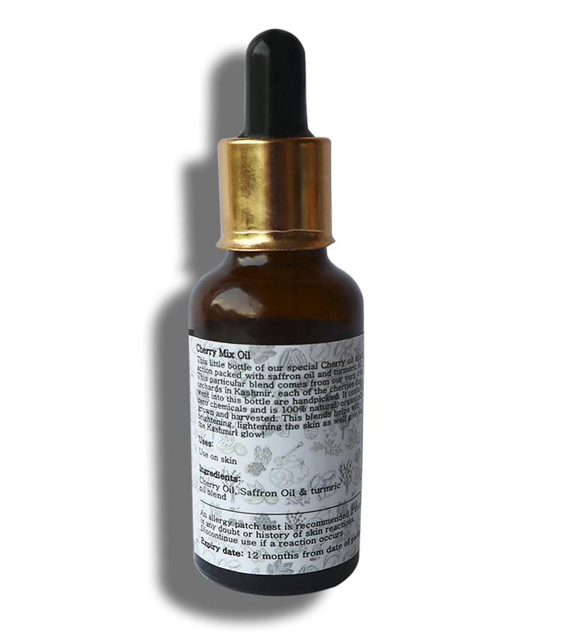 Zahara + face oils + Cherry mix oil + 30 ml + discount
