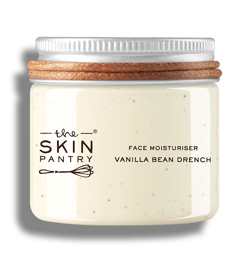 The Skin Pantry + face serums + face creams + Face Moisturiser Vanilla Bean Drench For Normal To Dry Skin + 60 ml + buy