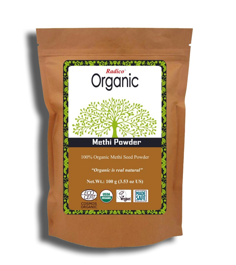 Radico + hair masks + Organic Methi Powder + 100 gm + buy