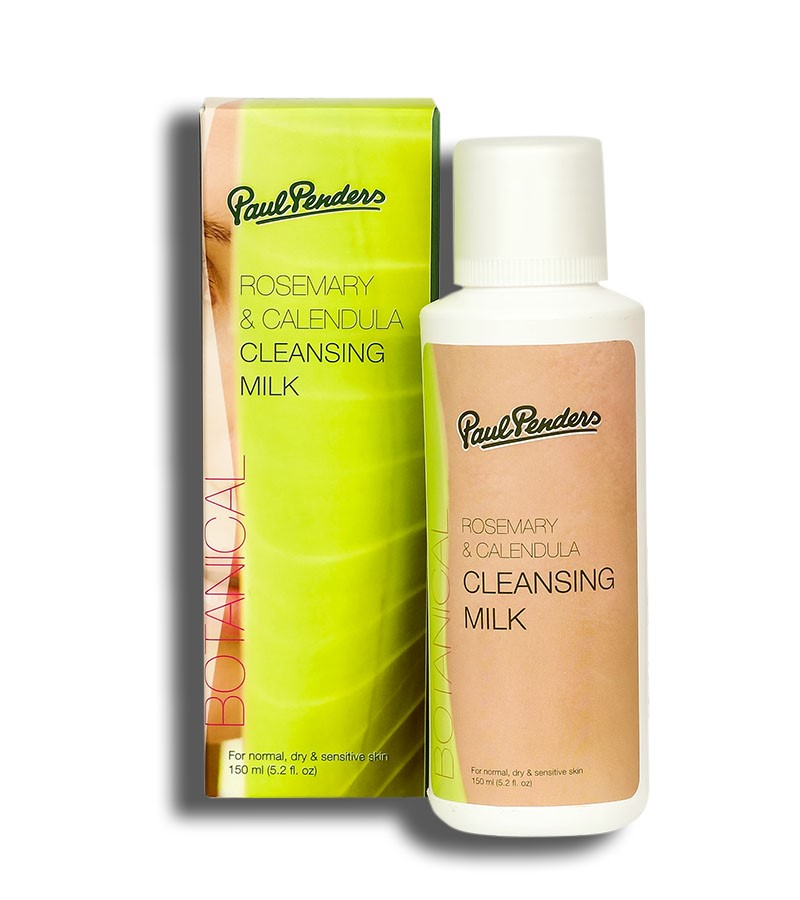Paul Penders + face wash + scrubs + Rosemary & Calendula Cleansing Milk + 150 ml + shop