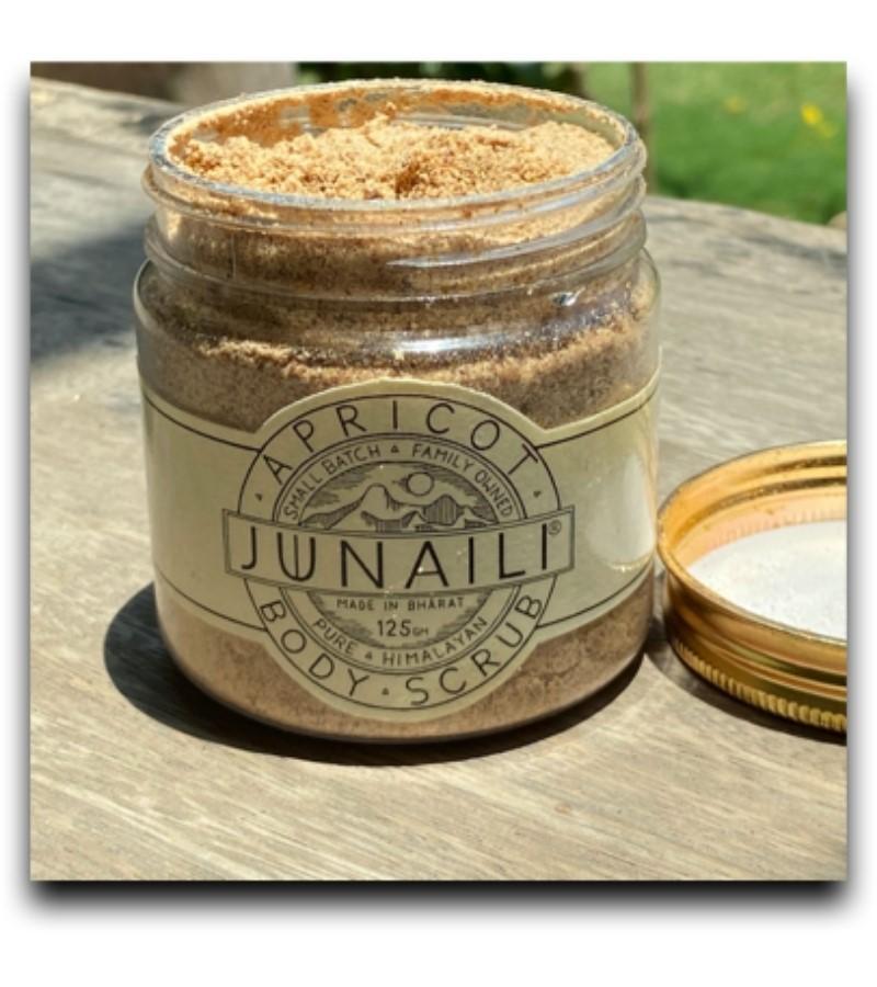 Junaili + body scrubs & exfoliants + Apricot Body Scrub + 125 gm + online