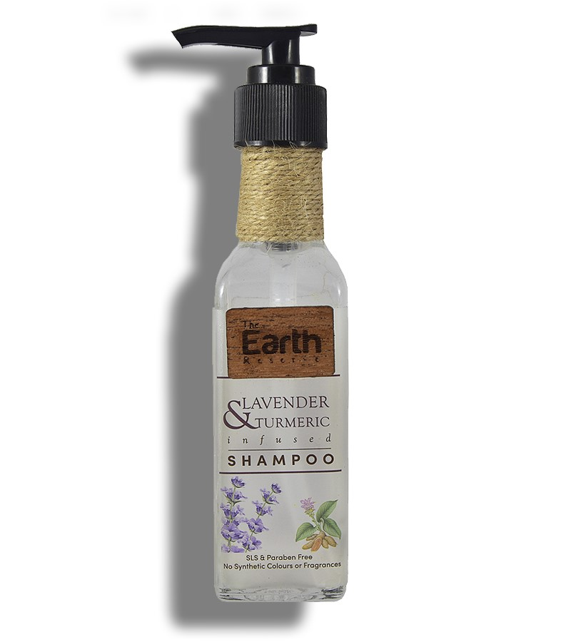 The Earth Reserve + shampoo + dry shampoo + Earthy Blends Infused Shampoo + Lavender & Turmeric + buy