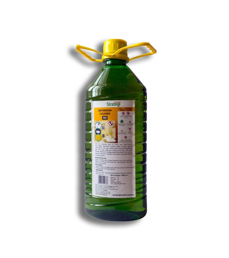 Herbal Strategi + floor + toilet cleaners + Bathroom Cleaner + 2000 ml + buy