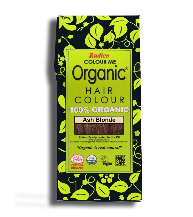 Radico + hair colour + Certified Organic Hair Color Dye - Blonde Shades + Ash Blonde (100 gm) + buy