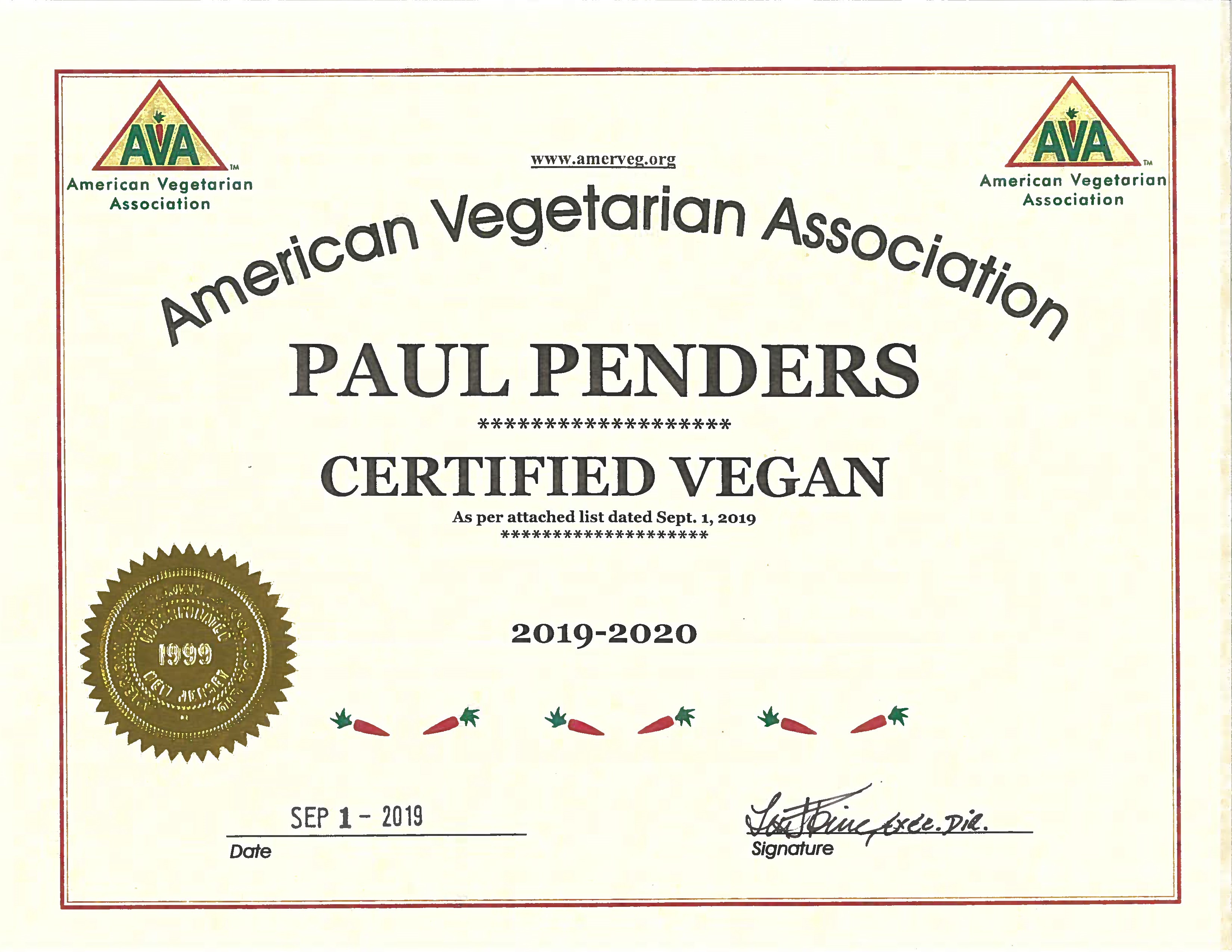 Paul Penders + toner + Men