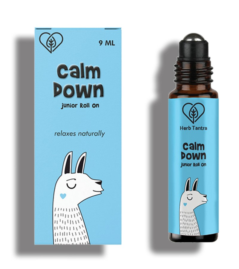 Herb Tantra + pain relief + Calm Down Junior Roll On For Kids + 9 ml + shop