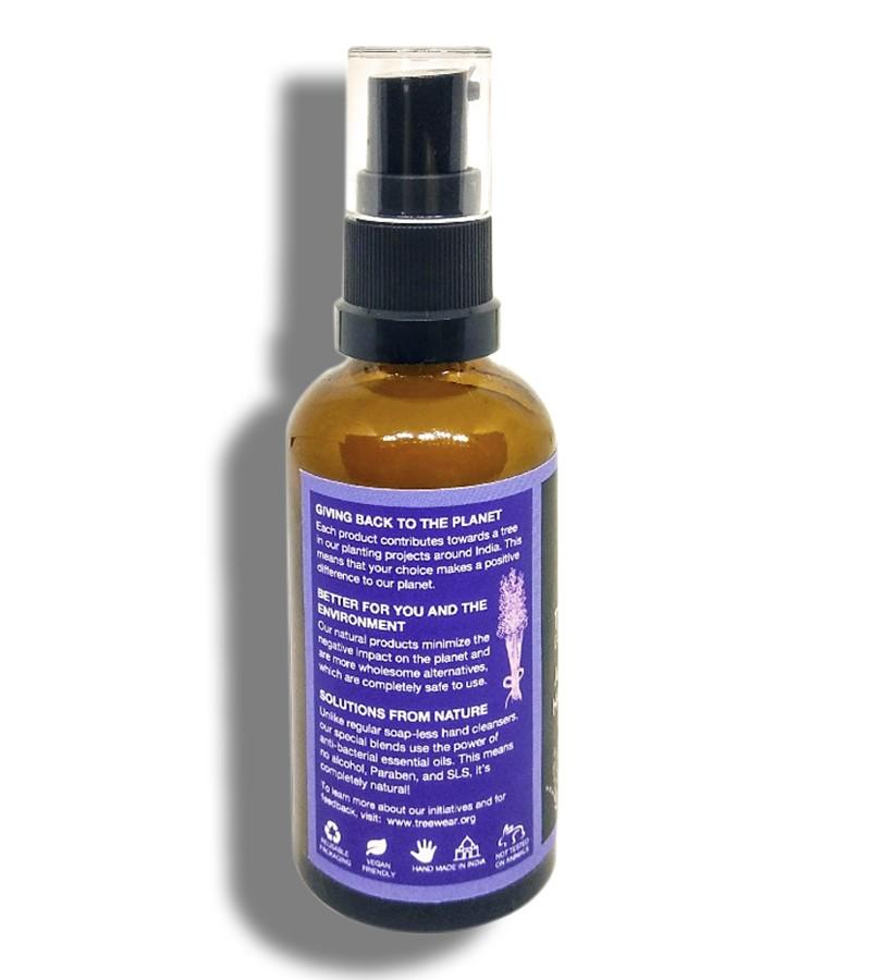 Treewear + hand sanitizer + Natural Hand Sanitizer - Calming Blend + 50 ml + shop