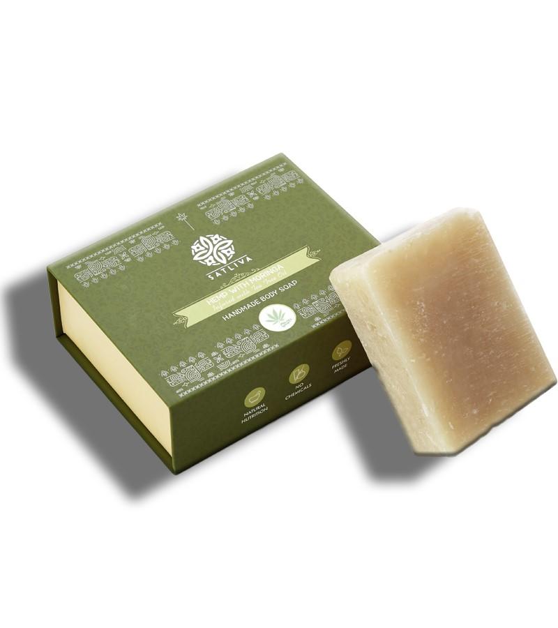 Satliva + soaps + liquid handwash + Hemp With Moringa Soap + 100 gm + shop