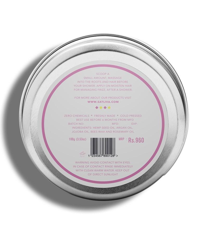 Satliva + hair masks + Argan Rosemary Hair Cream + 100g + discount