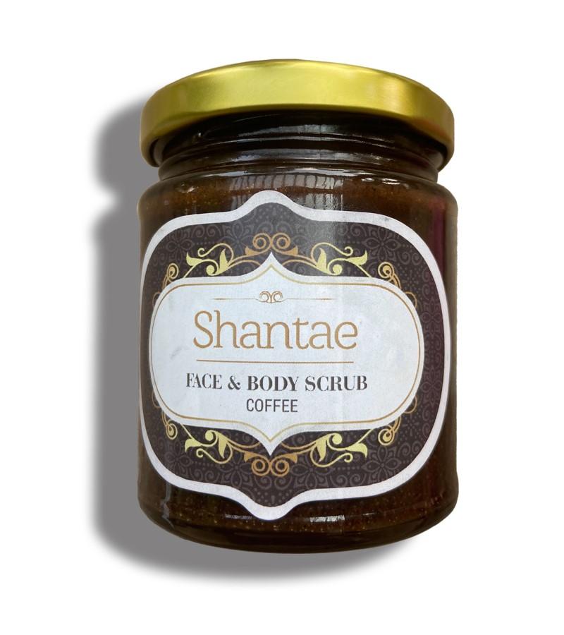 Shantae + body scrubs & exfoliants + Face and Body Scrub Coffee + 200 gm + buy