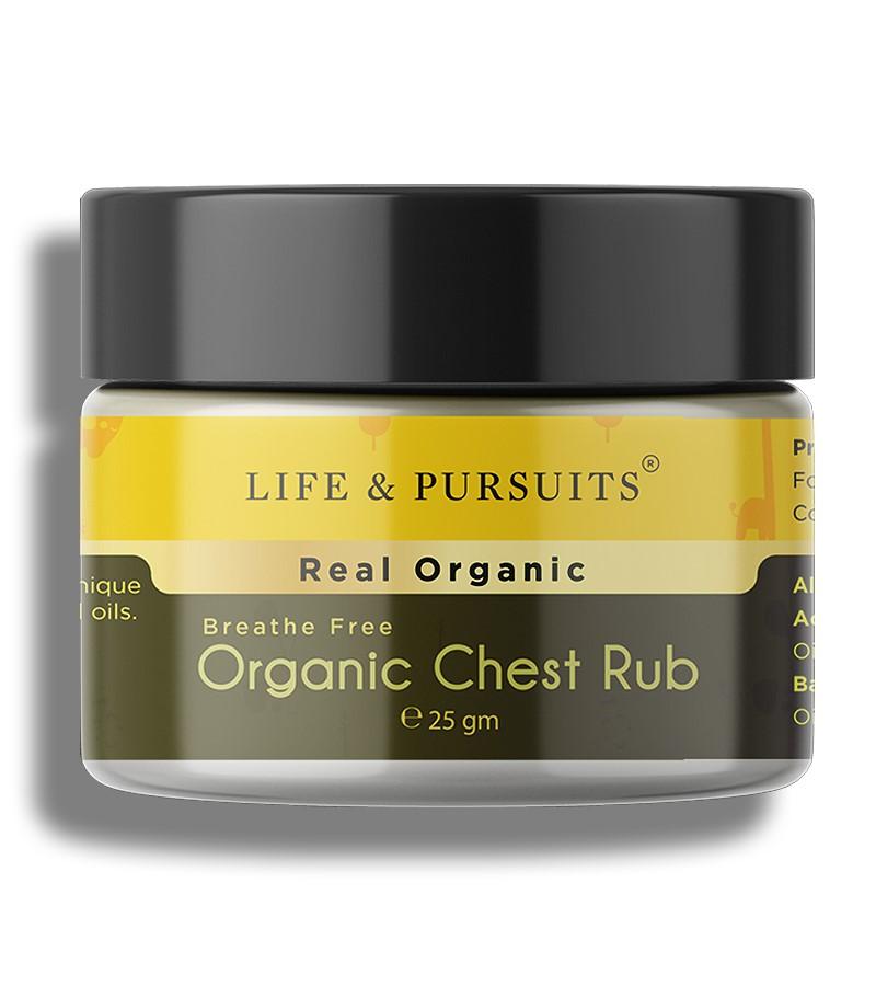 Life & Pursuits + baby oils & creams + Organic Chest Rub Balm + 25 gm + buy