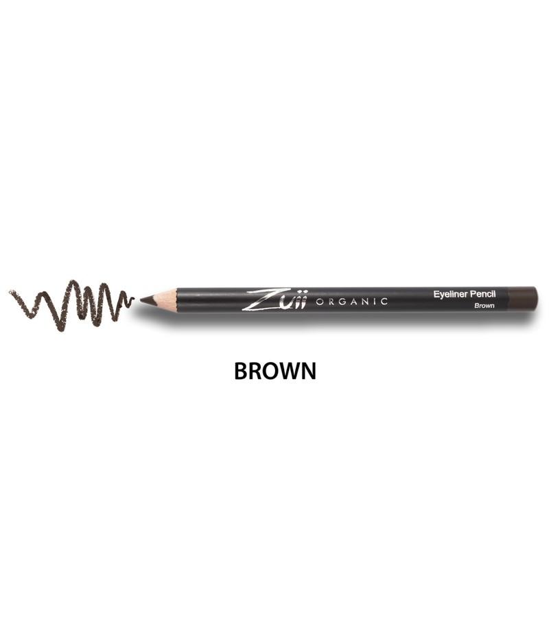 Zuii Organic + eyes + Eyeliner Pencil + Brown + buy