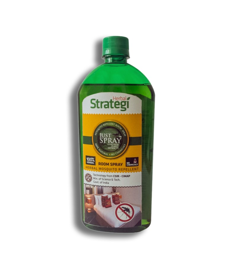 Herbal Strategi + insect repellents + Mosquito Repellent Room Spray + 500 ml + buy