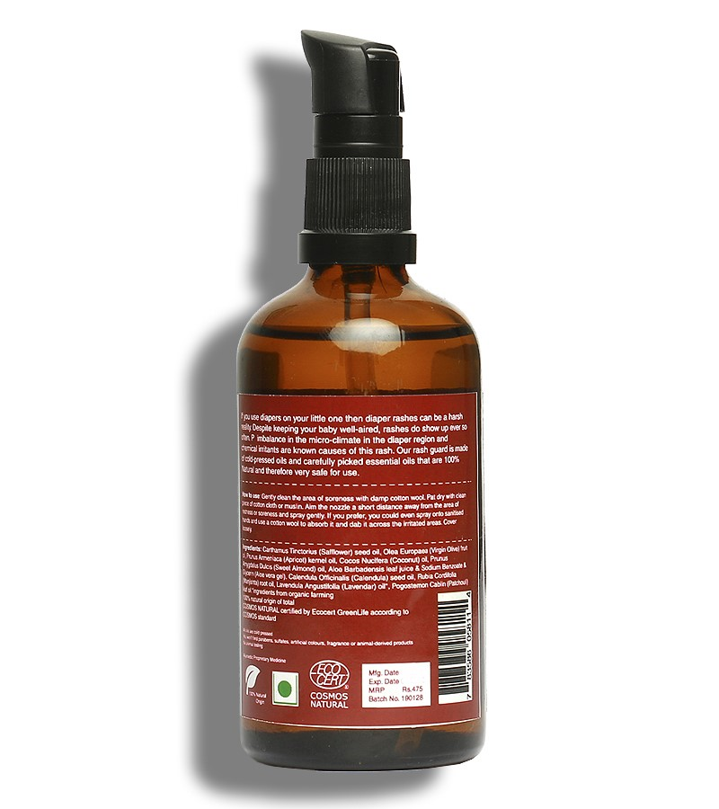 earthBaby + baby oils & creams + Nappy Rash Protection Oil 99.9% Certified Natural Origin + 100 ml + discount
