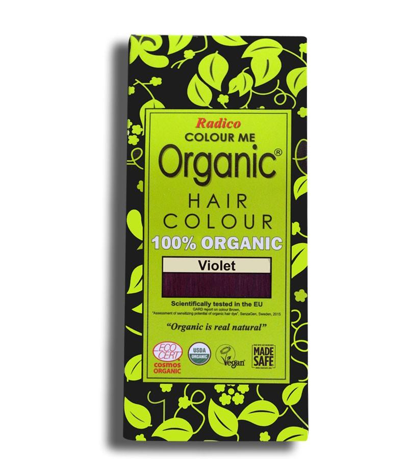 Radico + hair colour + Certified Organic Hair Color Dye-Violet + 100 gm + buy