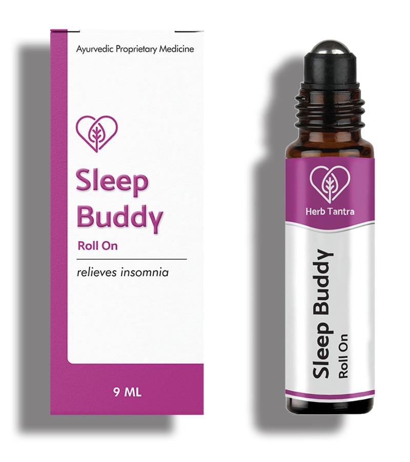 Herb Tantra + pain relief + Sleep Buddy Insomnia Relief Roll-On + 9 ml + shop