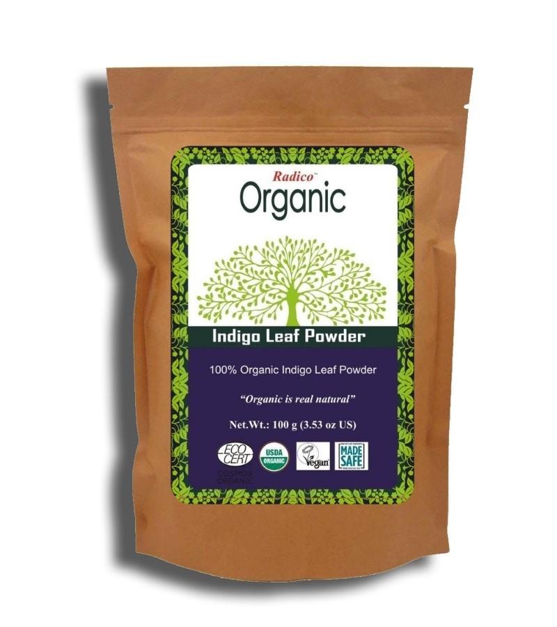 Radico + hair colour + Organic Indigo Leaf Powder + 100 gm + buy