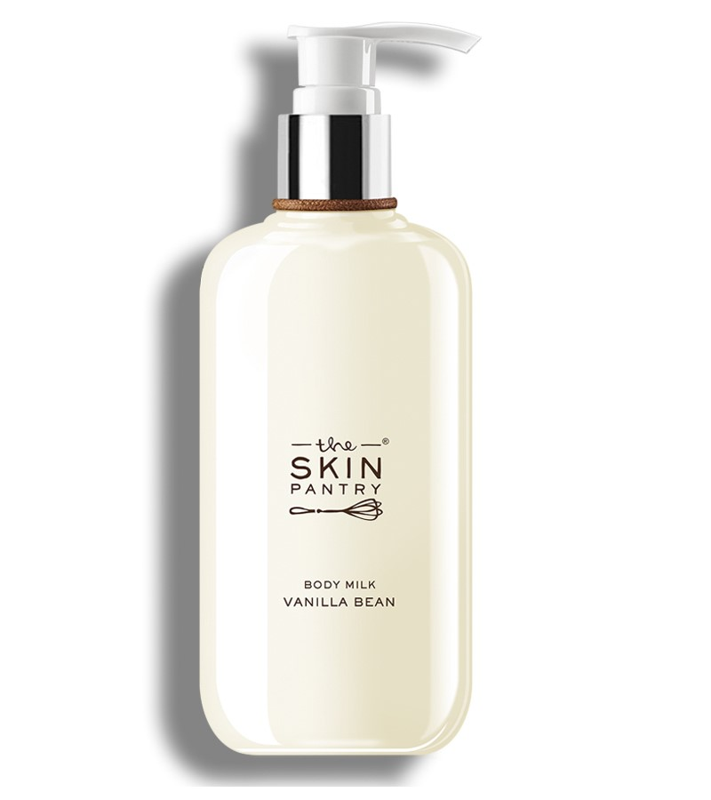 The Skin Pantry + body scrubs & exfoliants + Body Milk Vanilla Bean + 200 ml + buy