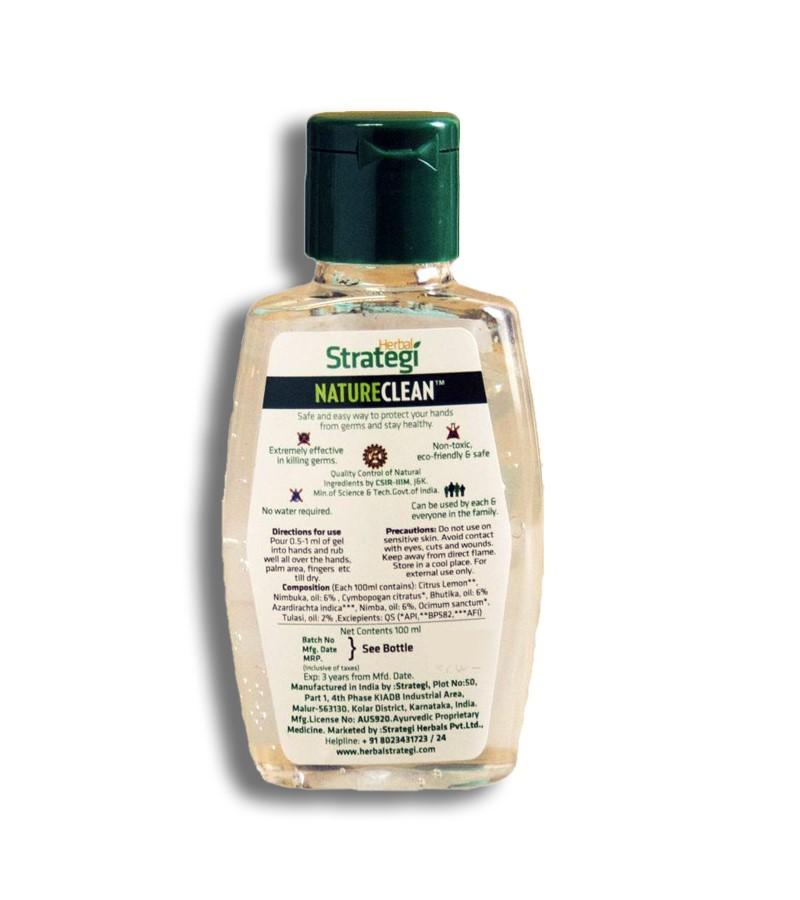 Herbal Strategi + hand sanitizer + Hand Sanitizer + 100 ml (min qty 3) + shop