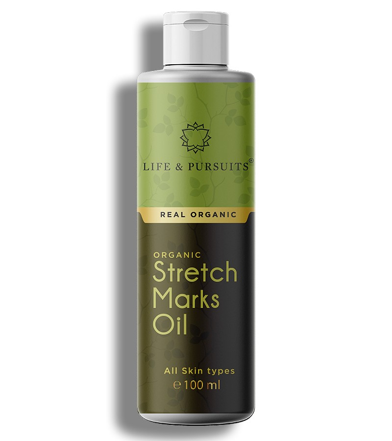 Life & Pursuits + mama creams & oils + Organic Stretch Marks Oil + 100 ml + buy