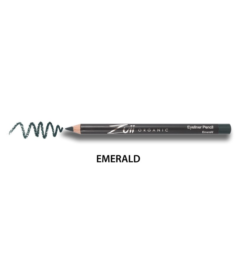 Zuii Organic + eyes + Eyeliner Pencil + Emerald + buy