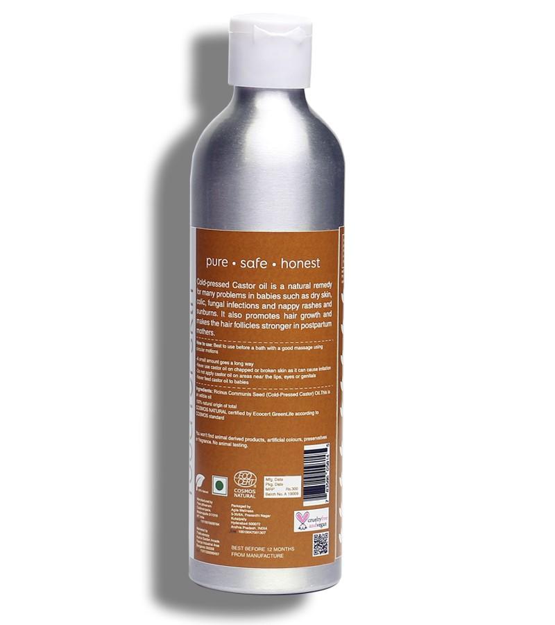 earthBaby + baby oils & creams + 100% Natural origin Cold-Pressed Castor Oil + 250ml + discount